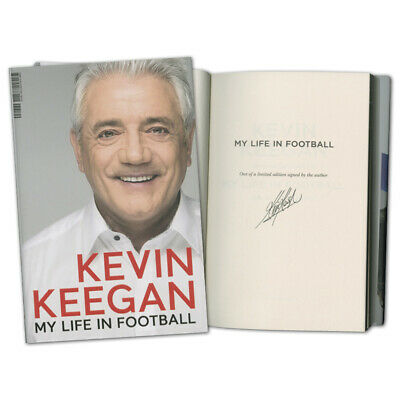 Kevin Keegan Signed Book