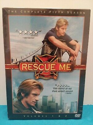 Brand New Sealed Rescue Me The Complete Fifth Season DVD Season 5