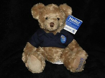 696b2145ed6df Tommy Bear Soft Toy Thomas Cook Teddy Comforter Doudou With Tag