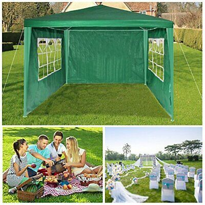 Gazebo Marquee Party Tent Sides Waterproof Garden Patio Outdoor Canopy 3x3m