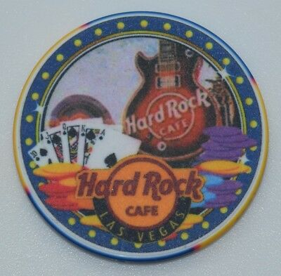 Hard Rock Cafe Advertisement Casino Chip Las Vegas NV ChipCo.
