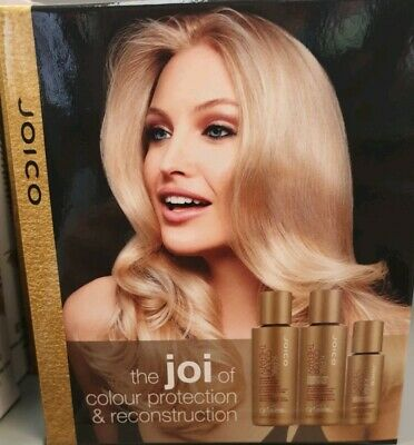 Joico K-Pak color therapy Travel Set, Shampoo 50ml Conditioner 50ml & oil 21ml