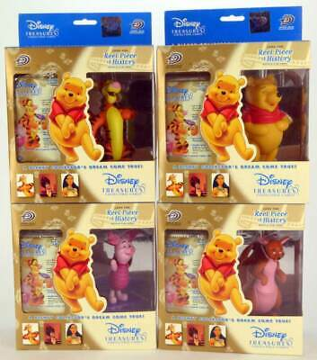Upper Deck Disney Treasures Winnie Pooh collectible cards & figure complete set