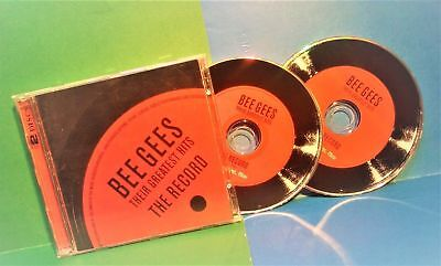 2CD's HDCD Bee Gees Their Greatest Hits The Record (40 tracks) 731458940029