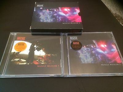 Muse Muscle Museum Fan Club Box Set Very Rare **Excellent Condition **