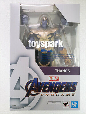 In Hand Bandai S.H.Figuarts Marvel Studio Avengers End Game THANOS action figure