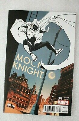 Moon Knight #8 DECLAN SHALVEY Retailer Incentive Variant Edition Cover  2014
