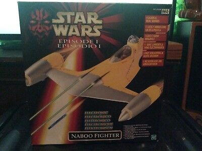 1999 Hasbro Star Wars Episode 1 Naboo Fighter Brand New