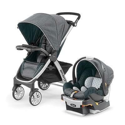 Chicco Bravo Trio System with KeyFit 30 Infant Car Seat - Poetic