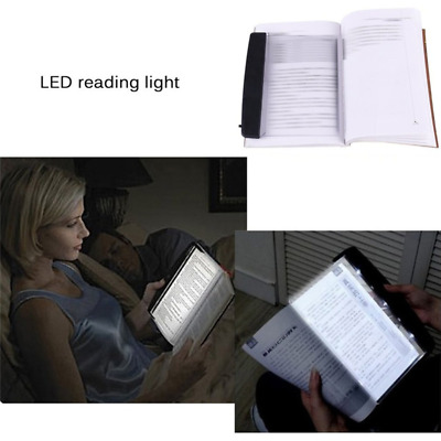 Portable Book Light LED Panel Lamp Night Vision Car Travel Reading Useful Gadget