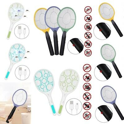 Hot ! Electric Bug Zapper Fly  Swatter Instant Insect Wasp Pest Killer