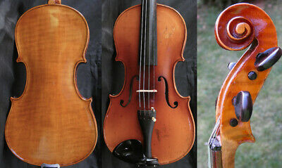 Fine 4/4 Antique Violin lab: Enrico Paul POLITI ROMA 19th AUBERT  Fiddle 小提琴 ヴァイ