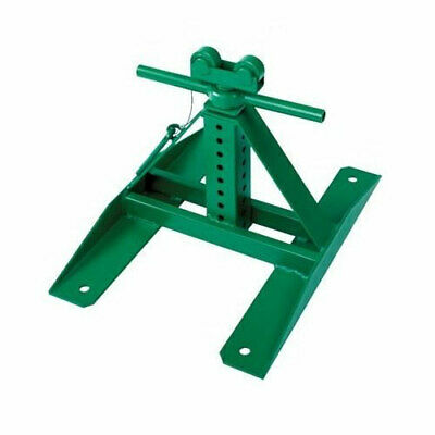 """Greenlee 687 Screw-Type Reel Stand 13"""" - 28"""" (1 Stand Only)"""