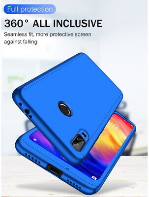 Shockproof Hybrid 360° Hard Case Cover For Huawei Mate 20 Pro Y7 Prime Y9 2019