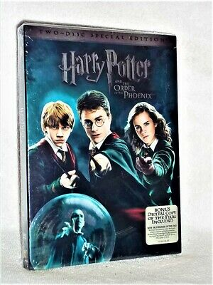 Harry Potter and the Order of the Phoenix (DVD, 2007, 2-Disc Set, Special Edi...