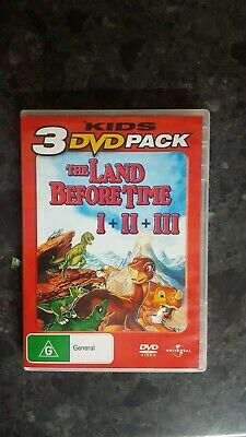 The Land Before Time / Great Valley Adventure / Time of the Great Giving (DVD, …