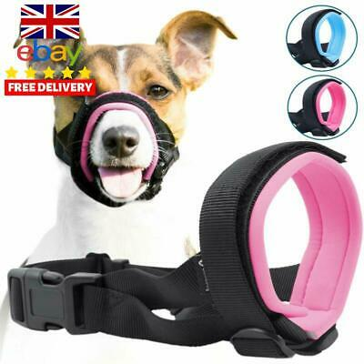 Gentle Muzzle Guard Dogs Prevents Biting Unwanted Chewing Safely Secure Medium