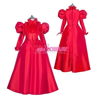Femdom Victorian Gown Ball dress Gothic evening Outfit Costume Tailor-made