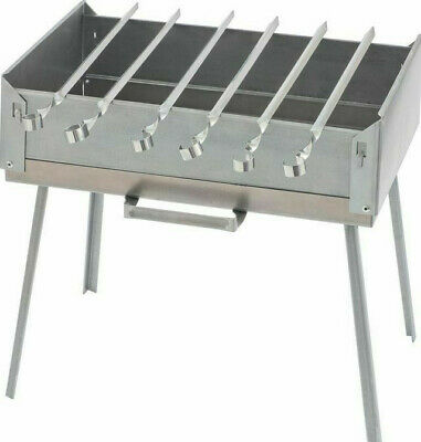Surface Mangal Stainless Steel Mega Skewers Grill +10 Compartments BBQ