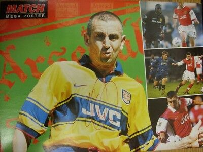c1990-00's Autographed Poster: Arsenal - Winterburn, Nigel [Approx 8x12 Inches]