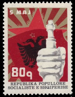 mi1596 Albania 1473 - National Independence 60th Anniversary pa62357