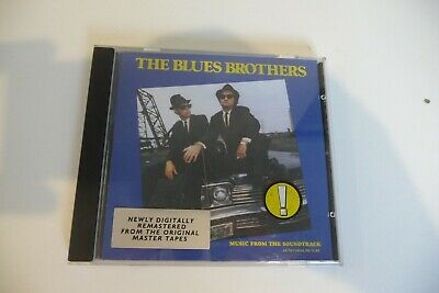 The Blues Brothers Cd Ost Newly Digitally Remastered John Belushi