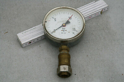 Manometer bis 16bar aus DDR