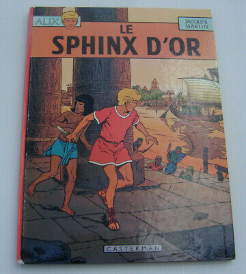 ALIX . Le sphinx d'or . JACQUES MARTIN . BD CASTERMAN 1971