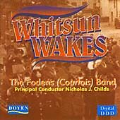 Whitsun Wakes Cd Fodens Courtois Band Brass Music