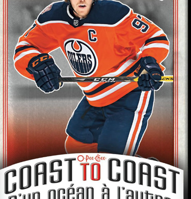 2018-19 O-Pee-Chee Coast to Coast Canadian Tire RED Hockey Cards Pick From List