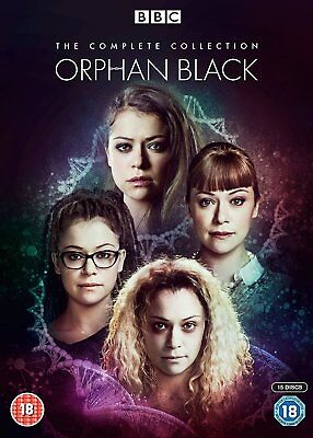 Orphan Black – The Complete Series (Seasons 1-5) DVD Sci-fi Action Drama