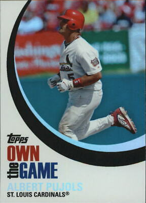 2007 Topps Own the Game #OTG4 Albert Pujols - NM-MT