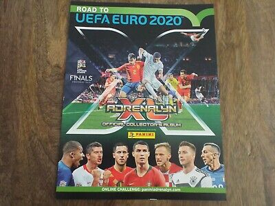 Panini Road To Euro 2020 - Complete 9 Card Teams / Country Set