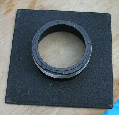 genuine Sinar F & P monorail hasselblad adapter  lens board panel