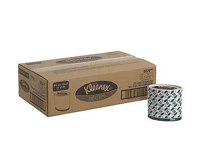 Kleenex 8826 Facial Tissue Oval, 3 ply, White,  10 cartons x 64 Sheets