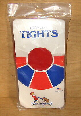 Vintage 1970's USA Buster Brown Little Girls Red Seamless Tights New in Pack