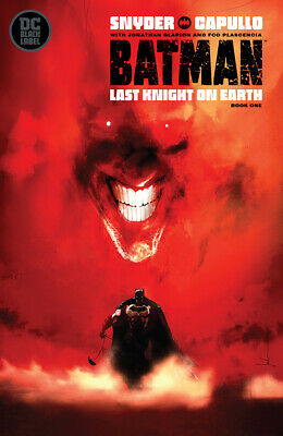 Batman Last Knight On Earth #1 (Of 3) Jock Variant 1St Print (05/29/2019)