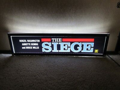 *** THE SIEGE [1998] *** D/S 5x25 [LARGE] MOVIE THEATER POSTER [MYLAR] ***