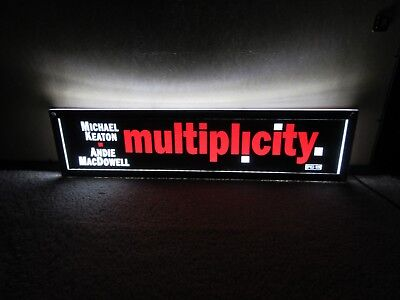 *** MULTIPLICITY [1996] *** D/S 5x25 [LARGE] MOVIE THEATER POSTER [MYLAR] ***