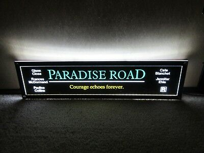 *** PARADISE ROAD [1997] *** D/S 5x25 [LARGE] MOVIE THEATER POSTER [MYLAR] ***