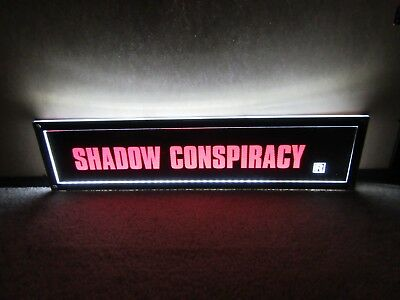 *** SHADOW CONSPIRACY [1997] *** D/S 5x25 [LARGE] MOVIE THEATER POSTER [MYLAR]