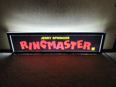 *** RINGMASTER [1998] *** D/S 5x25 [LARGE] MOVIE THEATER POSTER [MYLAR] ***