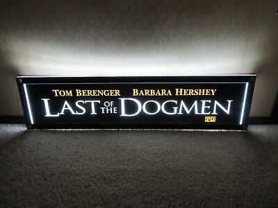 *** LAST of the DOGMEN [1995] *** D/S 5x25 [LARGE] MOVIE THEATER POSTER [MYLAR]