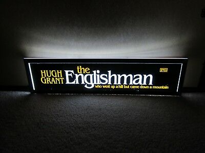 *** THE ENGLISHMAN [1995] *** D/S 5x25 [LARGE] MOVIE THEATER POSTER [MYLAR] ***