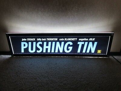 *** PUSHING TIN [1999] *** D/S 5x25 [LARGE] MOVIE THEATER POSTER [MYLAR] ***