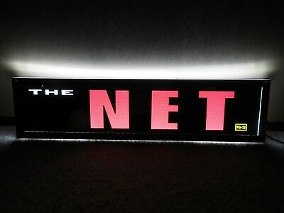 *** THE NET [1995] *** D/S 5x25 [LARGE] MOVIE THEATER POSTER [MYLAR] ***