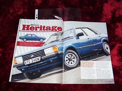 Classic Ford Magazine April 2008...Cortina Mk5 'Heritage'.