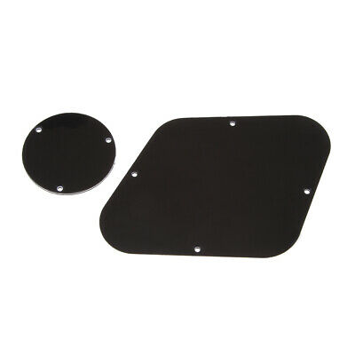 Electric Guitar Back Plate Cavity Cover Pickguards Musical Instrument Part