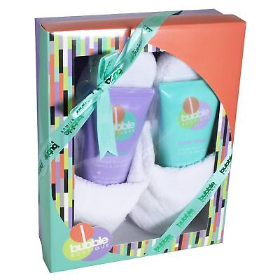 Donne Cosmetico/Coccole Set Regalo - Bubble Boutique Pantofole / Bagno Set