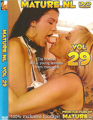 Mature.nl Vol.29 - The Hottest Old & Young Lesbians - Dvd Sealed